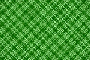 Green simple checker tartan pattern