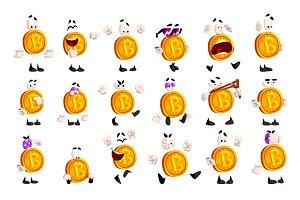 Bitcoin character sett, crypto