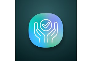 Quality services app icon