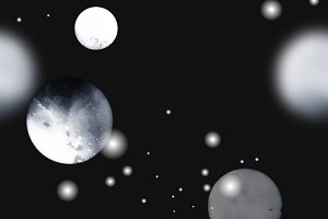 moons and planets seamless | JPEG