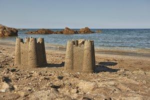 Dream Like a child in his sand castl