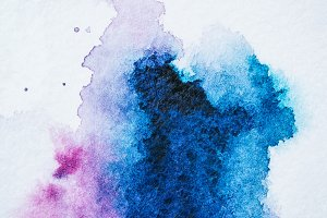 abstract texture with bright blue an