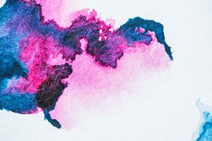 abstract background with pink and pu