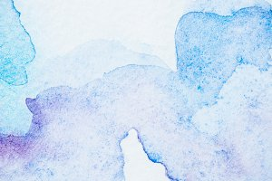 abstract light blue and purple water