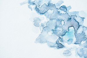 abstract wallpaper with blue waterco
