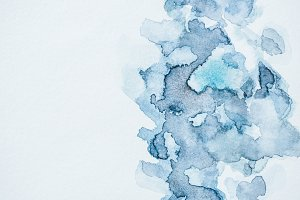 abstract background with blue waterc