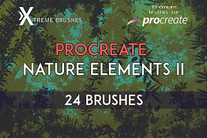 Procreate Nature Elements II