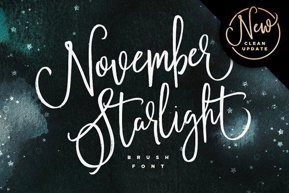 november starlight new update script fonts creative market