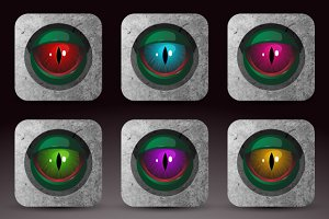 Dragon eye icon