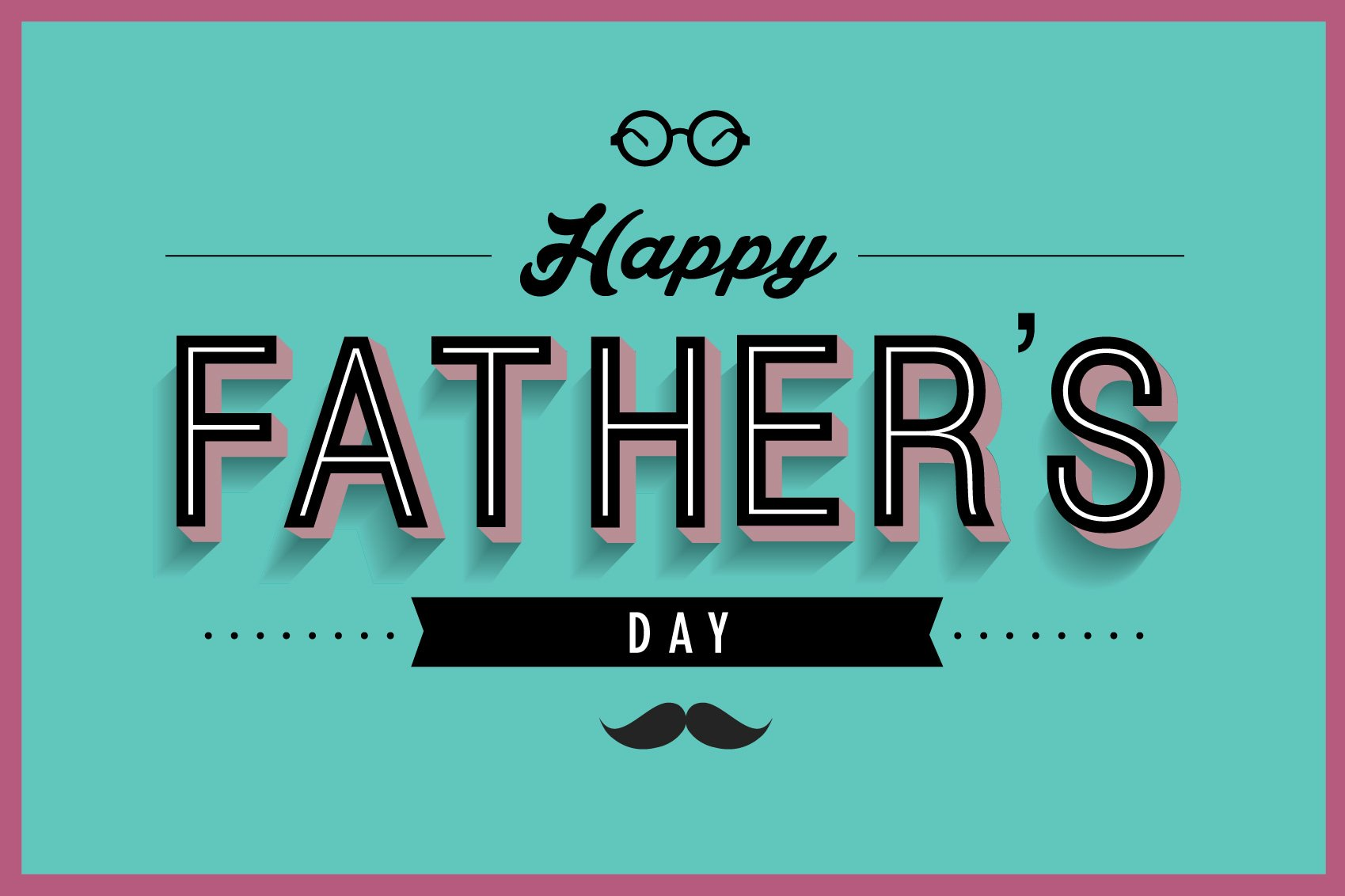 father's day greeting card template ~ Illustrations ...