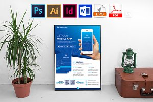 Poster | Mobile App Promotion Vol-03