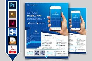 Mobile App Promotional Flyer Vol-03
