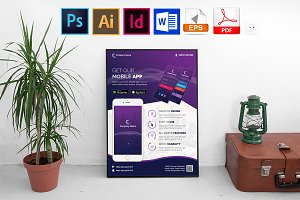 Poster | Mobile App Promotion Vol-01