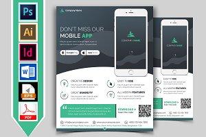 Mobile App Promotional Flyer Vol-02