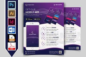 Mobile App Promotional Flyer Vol-01