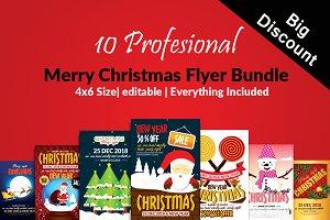 Christmas Flyers Templates Bundle 10