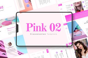 PINK-02 Powerpoint Template