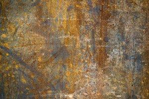 Abstract generated textured rust met