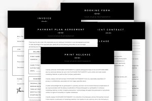 Photography Business Forms Set