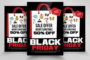 Black Friday Sale Offer Flyers Vol:2