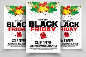 Black Friday Sale Offer Flyer Temp