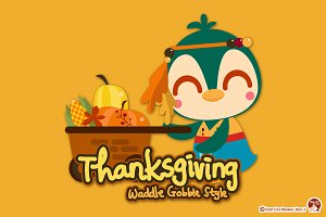 Thanksgiving Waddle Gobble