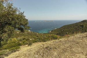 The path to the Mediterranean panora