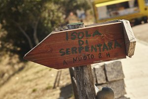Directions to the island of serpenta