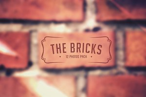 The Bricks - 12 blurred background