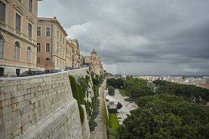 The historic center of Cagliari.