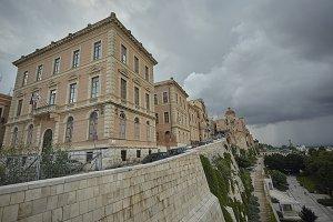 Cagliari Under a cloudy sky