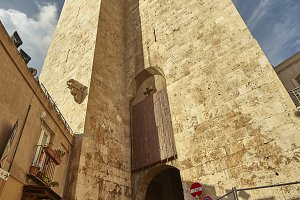 The tower with the passage