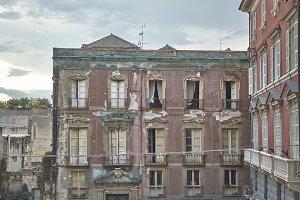 The ruins of Cagliari