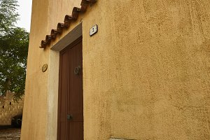 Typical Sardinian house