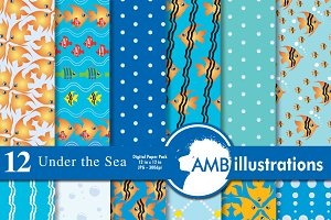 Deep Sea digital papers AMB-403