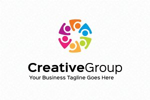 Creative Group Logo Template