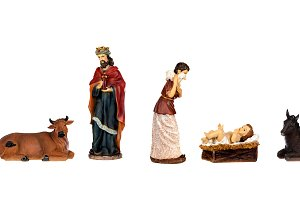 Image figures for the Nativity Porta