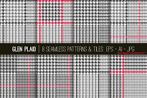 Vector Glen Plaid Patterns