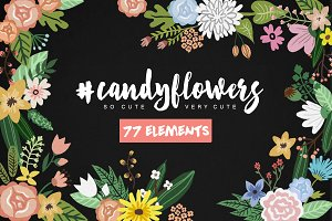 #Candyflowers