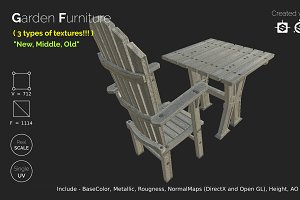 Garden Furniture - gameready