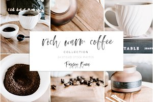 Rich Warm Coffee Collection