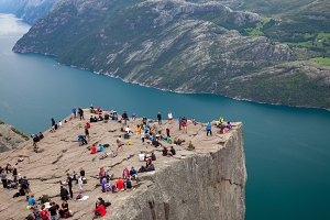 The Pulpit Rock in the Stavanger