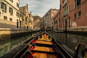 Gondola ride on Rio Dei Tre Ponti