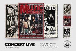 Concert Live Flyer Bundle V4