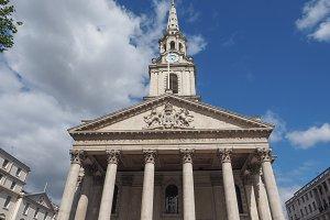 St Martin in the Fields church