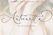 Antoinette//Modern Calligraphy №18