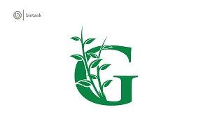 Green G Letter Logo