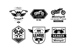 Vintage premium motorcycle league
