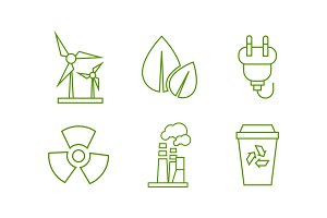 Ecology and energy saving green