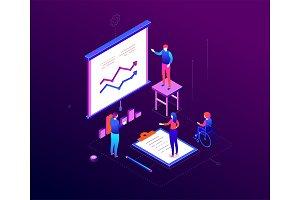 Business coaching - illustration
